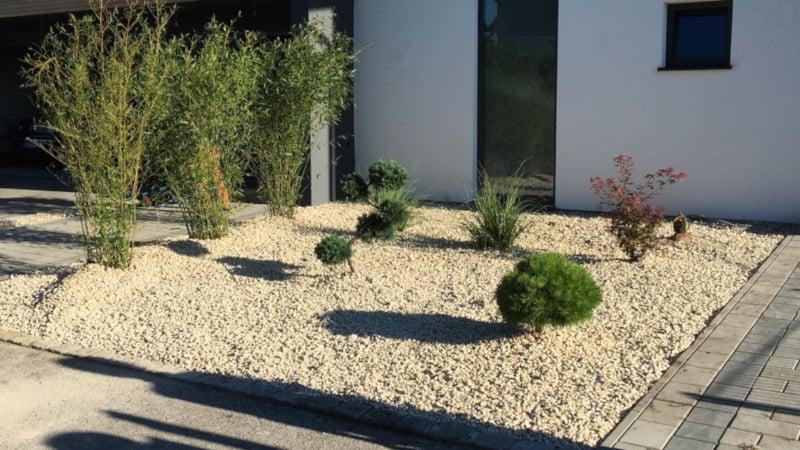 Die Gartengestaltung ist eine unserer Leistungen
