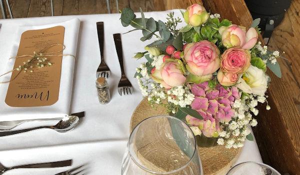 Tischdeko für Ihre Hochzeit