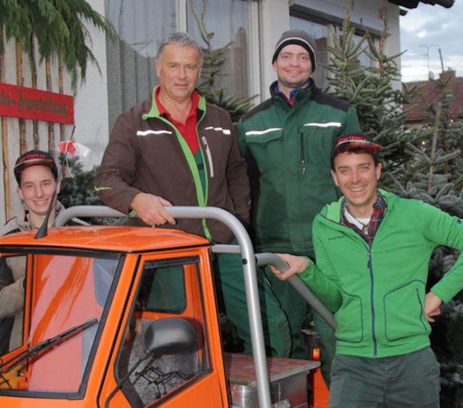 Team Gärtner & Gartengestalter